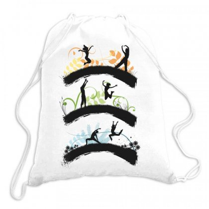 Dance Drawstring Bags Designed By Estore