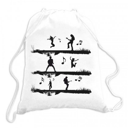 Music Drawstring Bags Designed By Estore