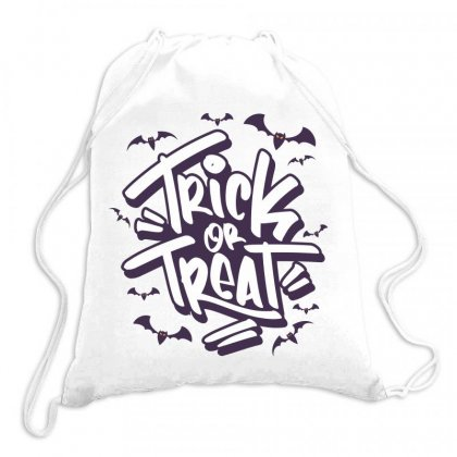 Trick Or Treat Drawstring Bags Designed By Estore
