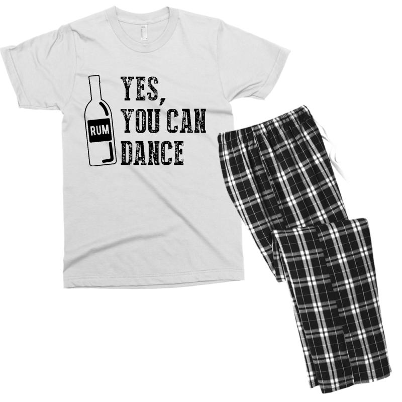 Rum Yes You Can Dance Men's T-shirt Pajama Set | Artistshot