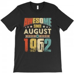 awesome since august 1962 shirt T-Shirt | Artistshot