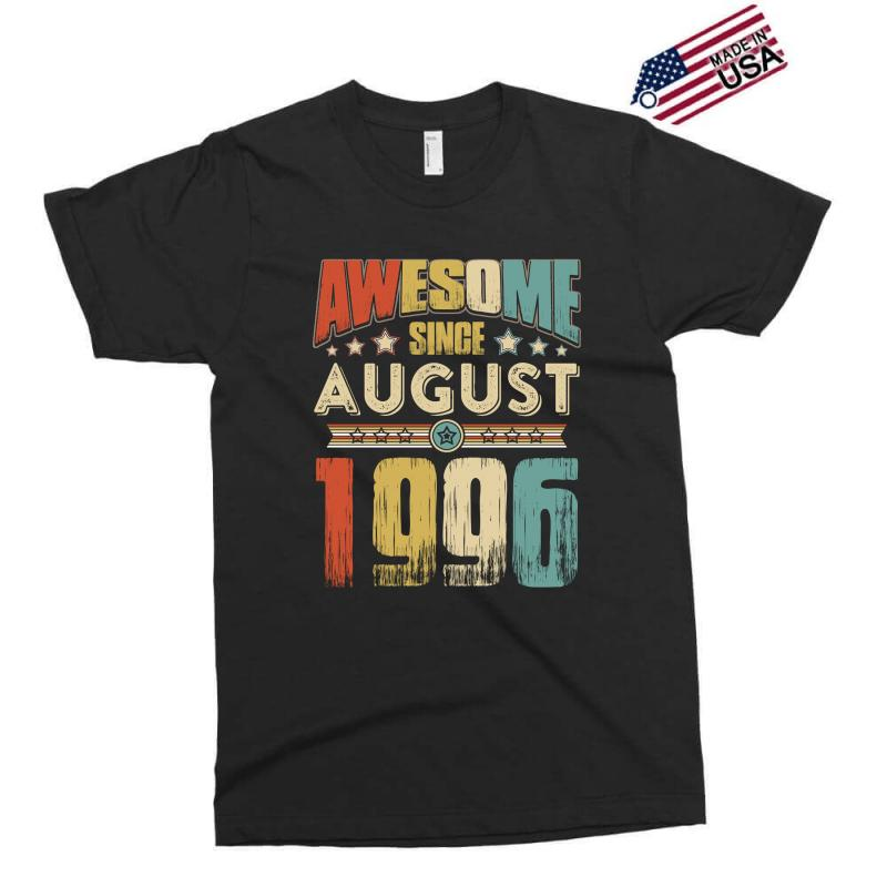 Awesome Since August 1996 Shirt Exclusive T-shirt | Artistshot