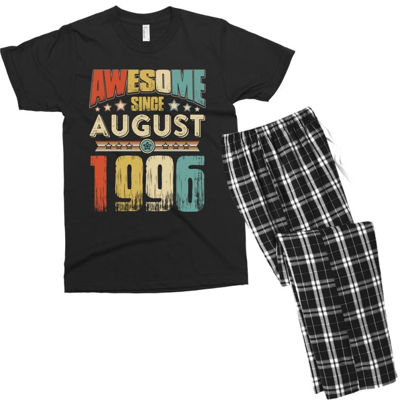 Awesome Since August 1996 Shirt Men's T-shirt Pajama Set | Artistshot