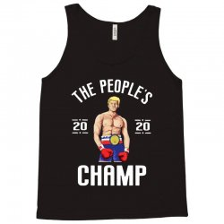 the people's champ donald trump 2020 for dark Tank Top | Artistshot