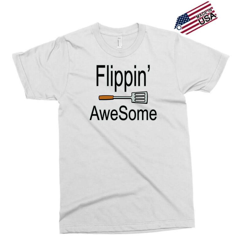 Flippin Awesome Cooking Greeting Exclusive T-shirt | Artistshot
