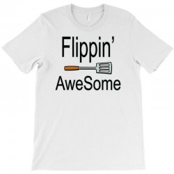 flippin awesome cooking greeting T-Shirt | Artistshot