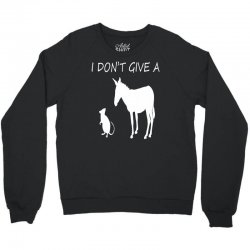 i don't give a rats ass Crewneck Sweatshirt | Artistshot
