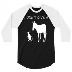 i don't give a rats ass 3/4 Sleeve Shirt | Artistshot