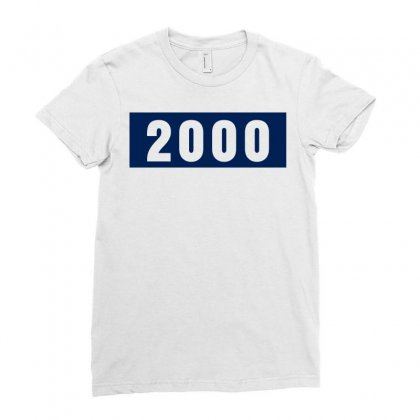 2000 Birthday Year Ladies Fitted T-shirt Designed By Lyly