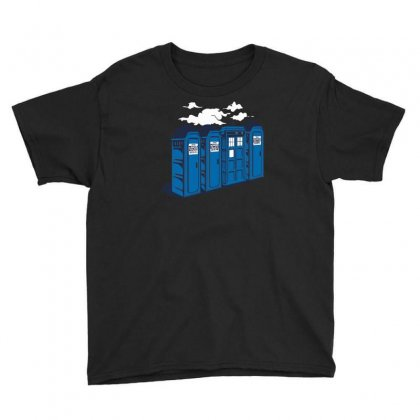 Port A Tardis Youth Tee Designed By Rendi