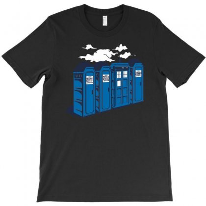 Port A Tardis T-shirt Designed By Rendi