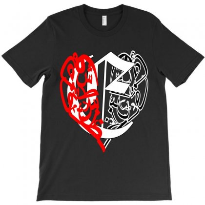 Love E T-shirt Designed By Nowlam