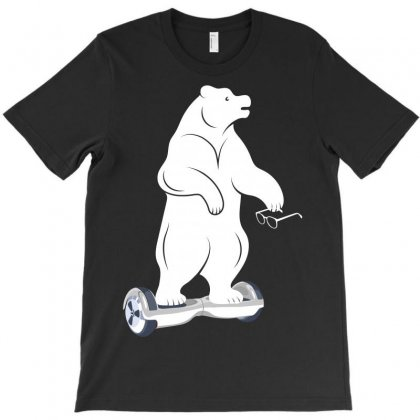 Bear Howerboard T-shirt Designed By Wizarts
