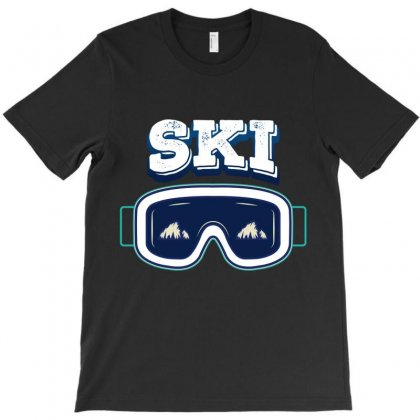 Ski T-shirt Designed By Wizarts