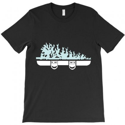 Snowboard Tree T-shirt Designed By Wizarts
