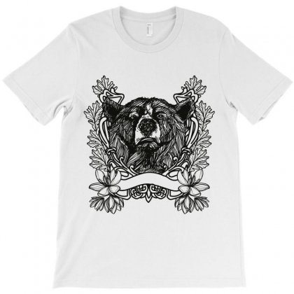 Bear Funny T-shirt Designed By Wizarts