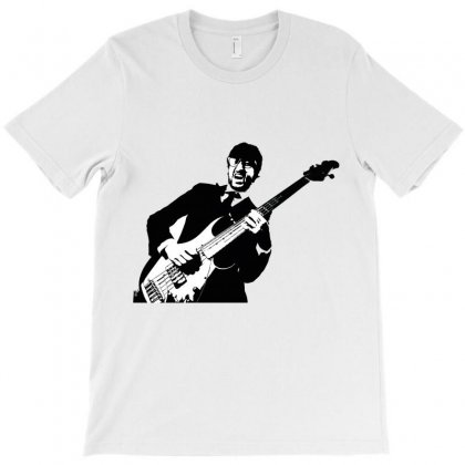 Guitar Player T-shirt Designed By Wizarts