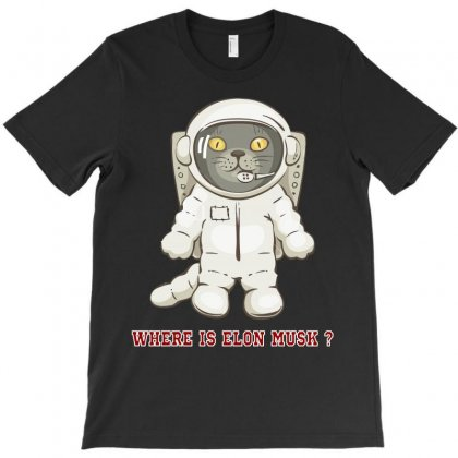 Where Is Elon Musk T-shirt Designed By Sabriacar