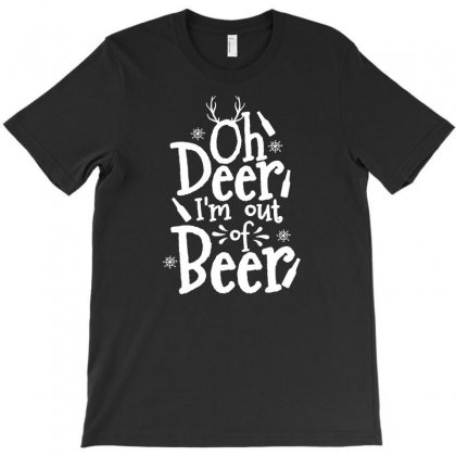 Out Of Beer T-shirt Designed By Teeshop