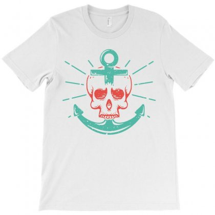 Skull Anchor T-shirt Designed By Teeshop