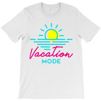 Vacation Mode T-shirt Designed By Teeshop