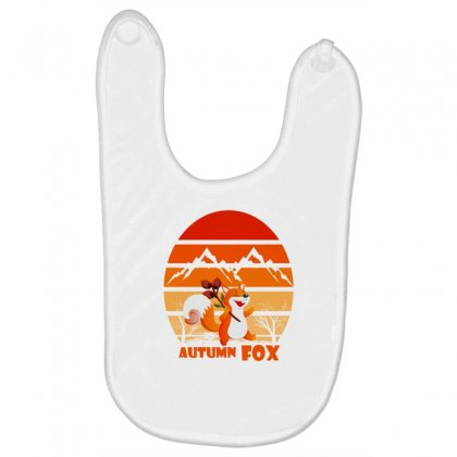 Autumn Fox Baby Bibs Designed By Cuser2397