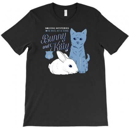 Bunny And Kitty T-shirt Designed By Rendi