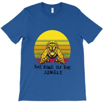 The King Of The Jungle T-shirt Designed By Cuser2397