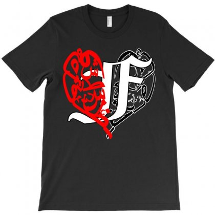 Love F T-shirt Designed By Nowlam