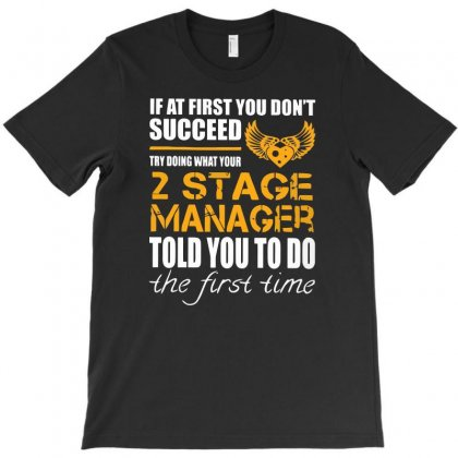 2 Stage T-shirt Designed By I One Simple Store