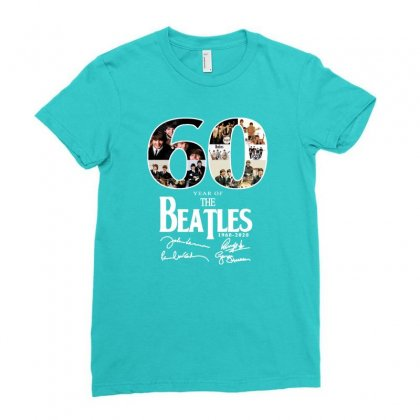 60 Years Ladies Fitted T-shirt Designed By Lotus Fashion Realm