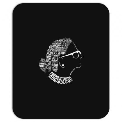 Notorious Rbg Shirt Ruth Bader Ginsburg Quotes Feminist Gift Mousepad Designed By G3ry