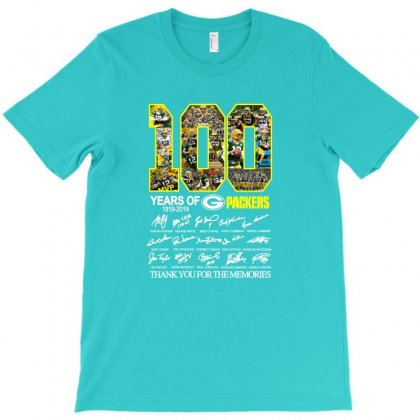 100 Years Green Thank For The Memories T-shirt Designed By Lotus Fashion Realm