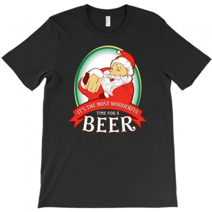 It's The Most Wonderful Time For A Beer T-shirt Designed By Rendi