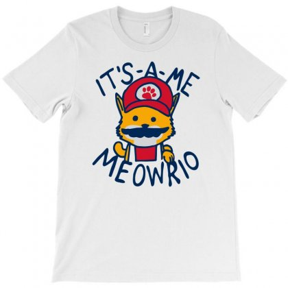 It's A Me Meowrio T-shirt Designed By Rendi