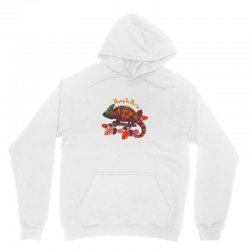 hang in there magical chameleon Unisex Hoodie | Artistshot