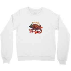 hang in there magical chameleon Crewneck Sweatshirt | Artistshot