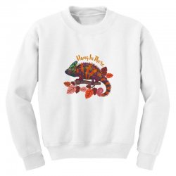 hang in there magical chameleon Youth Sweatshirt | Artistshot