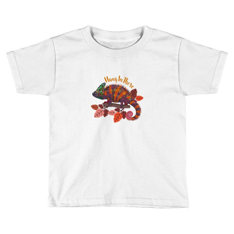 Hang In There Magical Chameleon Toddler T-shirt | Artistshot