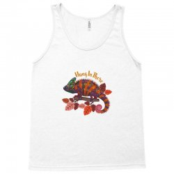 hang in there magical chameleon Tank Top | Artistshot