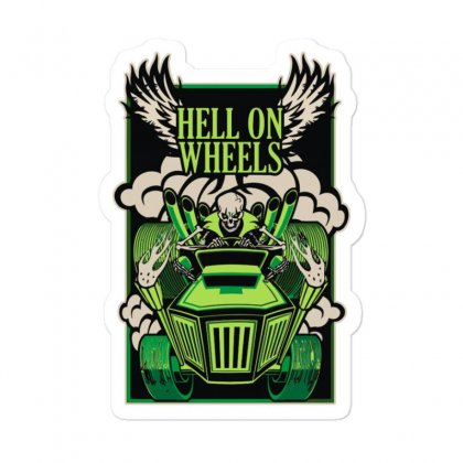Hell On Wheels Version Two Sticker Designed By Toldo