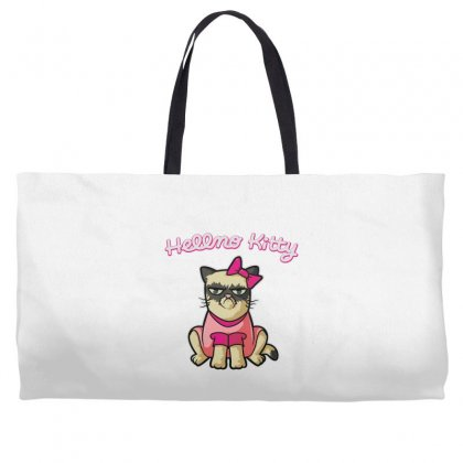Hellno Kitty Weekender Totes Designed By Toldo