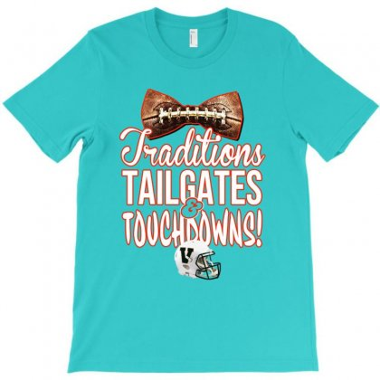 Alices Traditions Tailgates Touchdowns T-shirt Designed By Lotus Fashion Realm