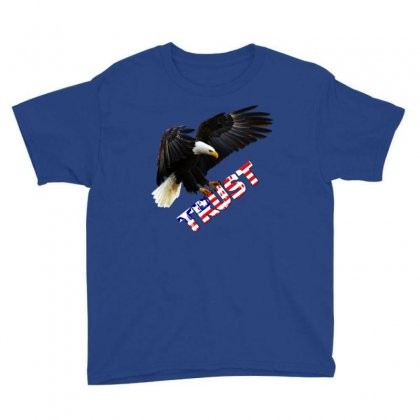 American Pride Youth Tee Designed By Lotus Fashion Realm