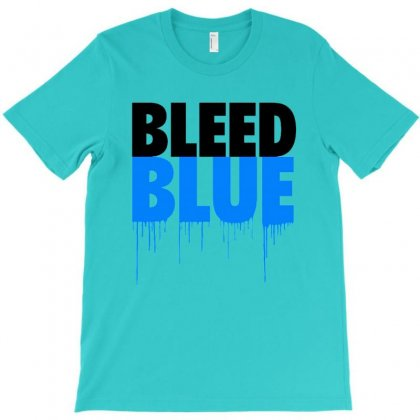 Bleed Blue T-shirt Designed By Lotus Fashion Realm
