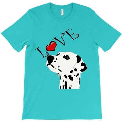 Love Is Black And White T-shirt Designed By Lotus Fashion Realm