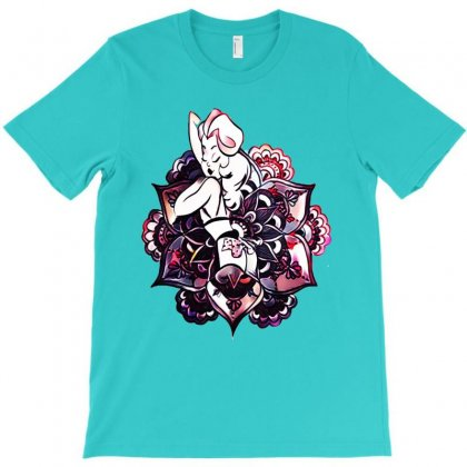 Mandalla Shirt With Anime Charactere T-shirt Designed By Lotus Fashion Realm