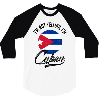 Cuban 3/4 Sleeve Shirt Designed By Ale Ceconello