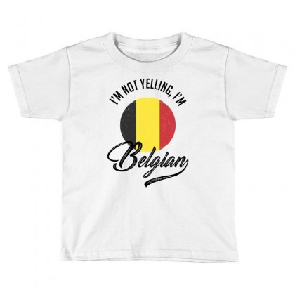 Belgian Toddler T-shirt Designed By Ale Ceconello