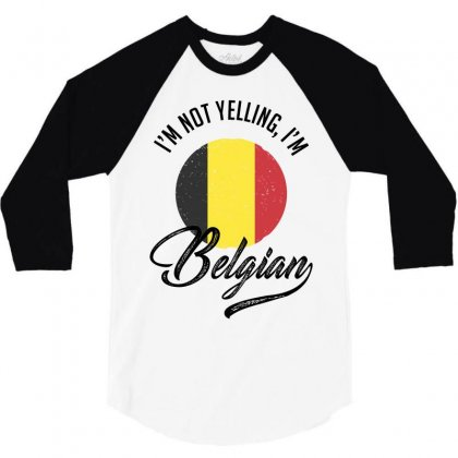 Belgian 3/4 Sleeve Shirt Designed By Ale Ceconello